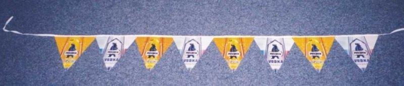 PVC vlajkové řetězce - Puschkin