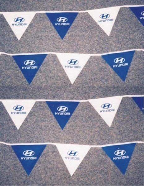 PVC vlajkové řetězce - Hyundai