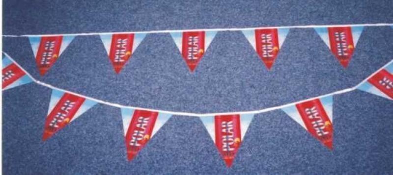 PVC vlajkové řetězce - Polar