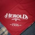 Reklamní ubrusy bavlněné - Herold