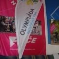 Beach vlajka typ kapka - Olympiáda