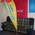 Beach vlajka typ kapka - Švejk