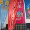 Beach vlajky typ vlající - Essox