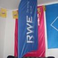 Beach vlajky typ vlající - RWE
