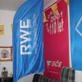 Beach vlajky typ vlající - RWE  (České lyžování)