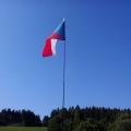 ČR vlajka na mobilním skládacím stožáru