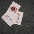 Papírové vlaječky - Eurotel
