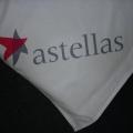 Reklamní ubrus PES - astellas
