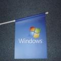 PVC vlaječky s držáky - Microsoft Windows