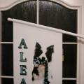 PVC vlaječky s držáky - Alea