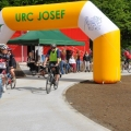 Reklamní brána URC Josef