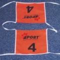 Reklamní startovní čísla Aport