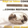 Reklamní tisk trička - Cohiba restaurant