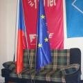Kovové stojany na vlajky PES klasické