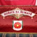 Slavnostní prapor - Hořice na Šumave
