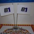Stolní vlaječky - B1