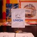 Stolní vlaječky - Uniqa