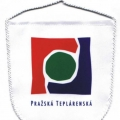 Stolní vlaječky erb - Pražská teplárenská