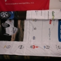 Textilní transparenty, PES tkanina - Opel
