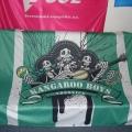 Textilní transparenty, PES tkanina - Kangaro Boys