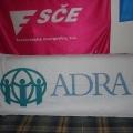 Textilní transparenty, PES tkanina - ADRA