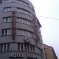 Textilní transparenty, PES úplet - Hotel Harmony