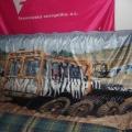 Textilní transparenty, PES úplet - Tatra team