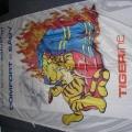 Textilní transparenty, PES úplet - Tiger