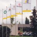 Vlajky na stožárech - lbpl