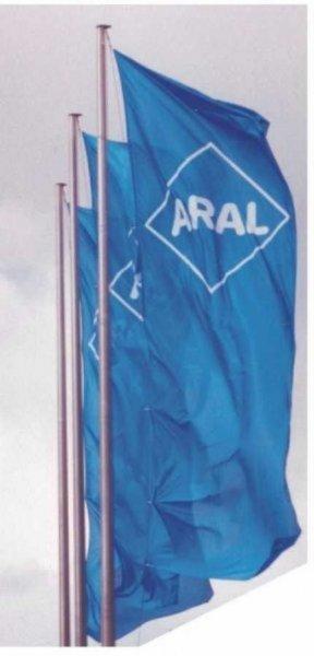 Vlajky na stožárech - Aral