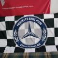 Reklamní vlajka oboustranná - Mercedes-Benz Klub