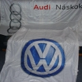 Reklamní vlajky - Audi a VW