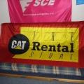 Reklamní vlajky - Cat rental