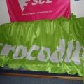 Reklamní vlajky - Crocodile