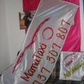 Reklamní vlajky - Mamataxi