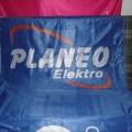 Reklamní vlajky - Planeo Elektro