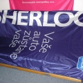 Reklamní vlajky - Sherlog