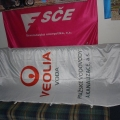 Reklamní vlajky - Veolia