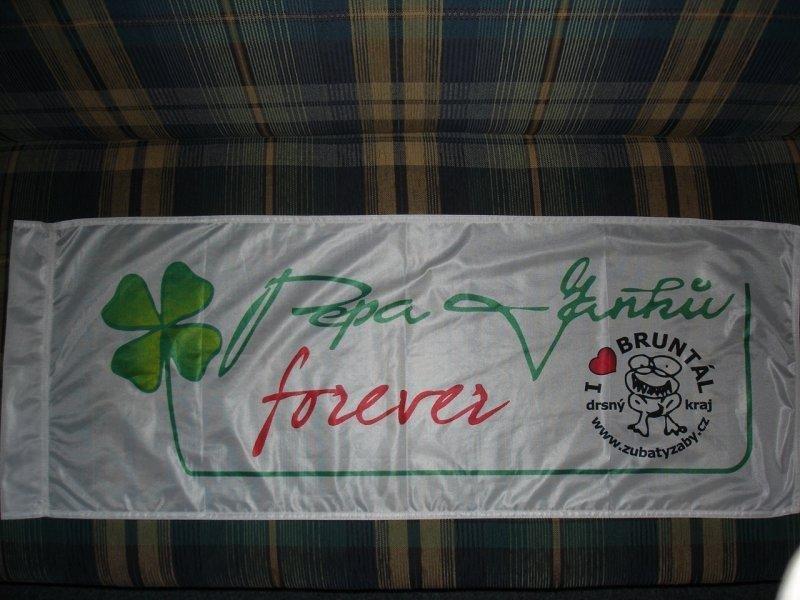 Reklamní vlajky na tyče - Bruntál