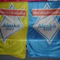 Reklamní vlajky na tyče - Alpská sůl
