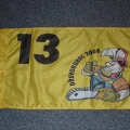 Reklamní vlajky na tyče - Drevorubec