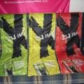 Reklamní vlajky na tyče - Žij na X