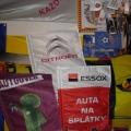 Ukázka z produkce vlajky na tyčky
