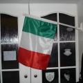 Textilní mávátko PES vlajka - Maďarsko