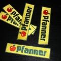 Reklamní nášivky - Pfanner
