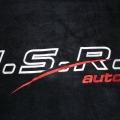 Reklamní výšivky - I.S.R. auto