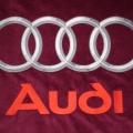 Reklamní výšivky - na deky Audi